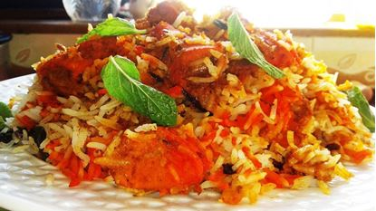 Picture of Chicken Tikka Biryani