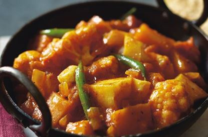 Picture of Mixed Vegetable Naga Balti