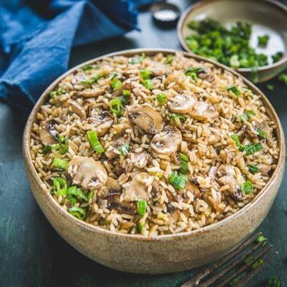Picture of Mushroom Fried Rice